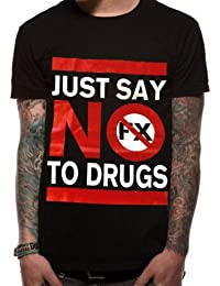 Official NOFX - Just Say No To Drugs - Unisex T shirt