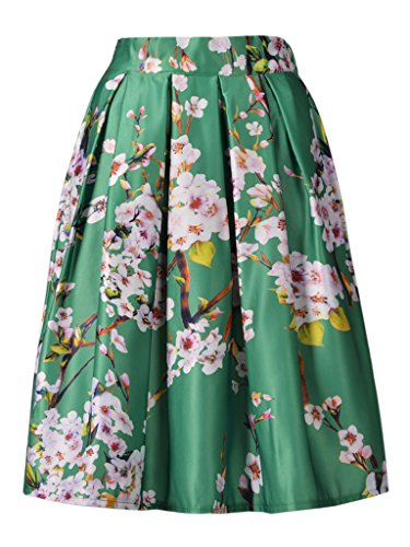 choies-jupe-mi-longue-patineuse-soyeuse-imprime-sakura-floral-vert