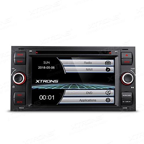 XTRONS® Reproductor de DVD estéreo para Coche con Pantalla táctil HD de...