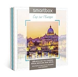 SMARTBOX - Coffret Cadeau - Cap sur l'Europe