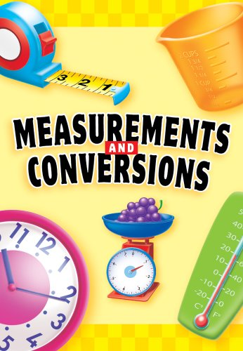 Measurements and Conversions Mini Magnet Book