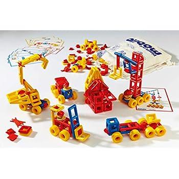 Baukästen & Konstruktionsspielzeug Plasticant Mobilo 330–Construction Set 424Pieces II with 12large wheels a...