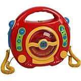 Kinder CD Player Digital Karaoke mit 2 Mikrophone