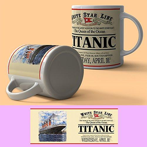 The Original Metal Sign Company Titanic Mug