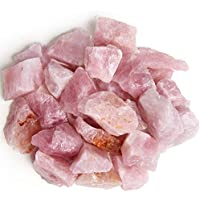 Graben Puppen, 1lb Rose Quarz ungeschliffener Rocks von Madagaskar–Groß 2,5cm + RAW natur Steinen für Kunst... preisvergleich bei billige-tabletten.eu