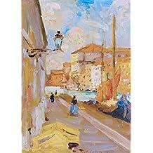ODSAN Venentian Quay - By Francis Campbell Bolleau (F.C.B.) Cadell - impressions sur toile 12x17 pouces - sans cadre