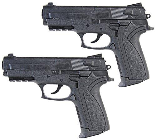 Bundeswehr Elite Softair Pistole 18cm 2 Stück unter 0,5 Joule ab 14 (Kostüme Grüne Ranger Neue)