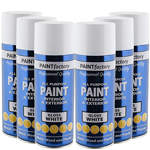 all-purpose-automotive-spray-paint-400ml-can-white-gloss-aerosol-metal-interior-exterior-fast-dry-ex
