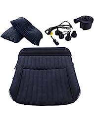 LABABE SUV & MPV Materasso gonfiabile da auto,Campeggio gonfiabile del materasso gonfiabile del materasso di viaggio dell'automobile universale, Free Pompa elettrica e cuscino gonfiabile