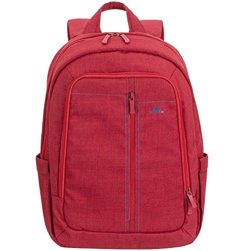 """RivaCase 7560, Zaino per Laptop Fino a 15.6"""" (rosso)"""