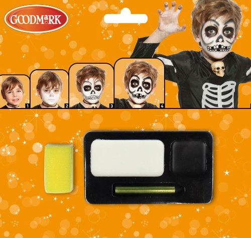 Generique - Halloween Skelett-Schminkset für Erwachsene