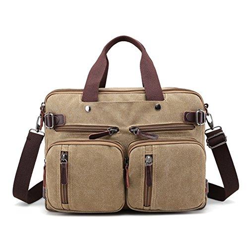 Borsette,borsa di tela,singola spalla /messenger bag-cachi cachi