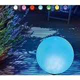 Boule led lumineuse solaire étanche, à poser ou planter