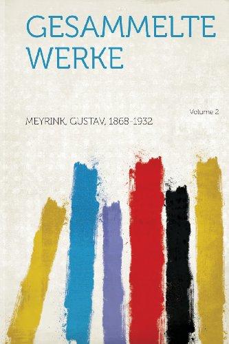 Gesammelte Werke Volume 2