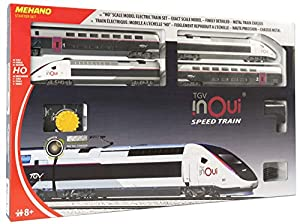 Mehano-T871-Juego de Tren eléctrico TGV Inoui