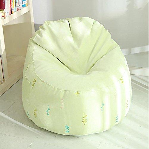 G-Y Sofa Paresseux, Sac D'haricot Propre Détachable Mini Simple, Petit Sofa Moderne De Mode (tissu Court De Pile) ( Couleur : Le jaune )