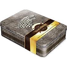 Game of Thrones - Winter is Coming: Schmuckdose inkl. Notizbuch mit Motiven des House Stark