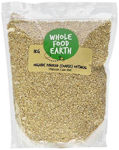 Wholefood Earth Organic Oatmeal Coarse, 1 kg