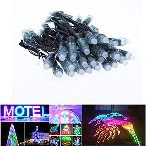 alitove-50pcs-dc-12v-ws2811-led-pixel-black-12mm-diffused-digital-rgb-string-addressable-dream-color
