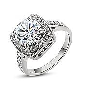 La gioielleria Yoursfs vende molto fashion. Il valore non e' alto. Questo anello alla moda e' simile alla gioielleria in oro e oro bianco.Per esempio, Sono molto in voga.Ciononostante, il materiale principale e' lega con tre volte di 18k oro ...