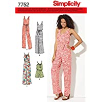 Simplicity 7752.A - Cartamodello per
