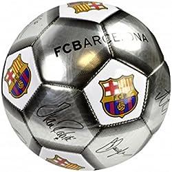 FC Barcelona - Balón de fútbol oficial de FC Barcelona (Talla 5/Palta/blanco/negro)