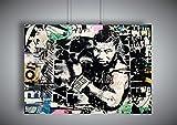 Poster BANKSY MIKE TYSON STREET ART GRAFFITI Wall Art