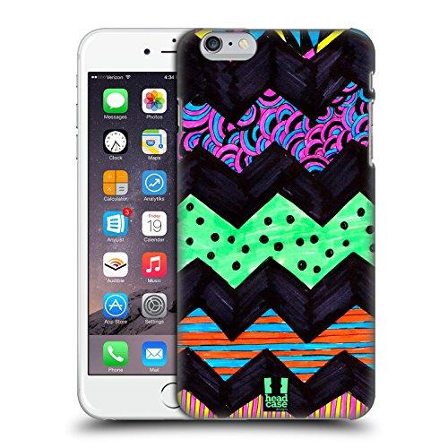 Head Case Designs Triangolo Doodle Pattern Colorati Cover Retro Rigida per Apple iPhone 7 Plus / 8 Plus Chevron