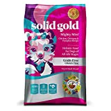 Solid Gold Mighty Mini Grain and Gluten Free Holistic Dry Dog Food, Chicken, Chickpeas & Pumpkin, Dogs of All Life Stages & Activity Levels, Toy and Small, 4lb Bag