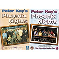 Peter Kay's Phoenix Nights All 12 Complete Episdoes First and Second Series Collection: (2 Discs) Season 1 + 2 + Loads of Extras