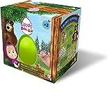 Uovo di Pasqua giocattolo di Masha e Orso con sorprese E' arrivato il nuovo uovo di Pasqua con sorprese di Masha e Orso! Perfetto come regalo per tutti i bambini amanti del simpatico orsetto e della sua amica! All'interno dell'uovo troverai s...