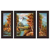 #6: Wens 'Peaceful Nature' Wall Art (MDF, 30 cm x 34 cm x 1.5 cm , WSP-4273)