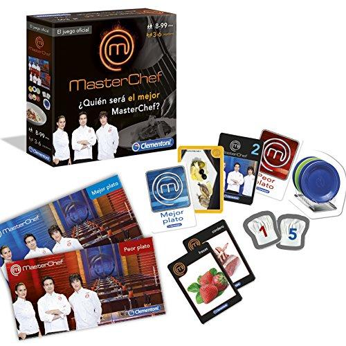 Máster Chef - Juego de preguntas (Clementoni 55014)