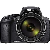 Nikon Coolpix P900 Digitalkamera (16 Megapixel, 83-fach optischer Megazoom, 7,5 cm (3 Zoll) RGBW-Display mit 921.000 Pixel, Full-HD-Video, Wi-Fi, GPS, NFC, bildstabilisiert) schwarz (DE Version)