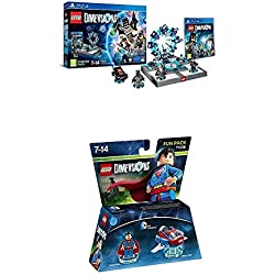 LEGO - Starter Pack Dimensions (PS4) + LEGO Dimensions - DC Superman