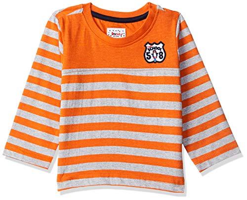 Donuts by Unlimited Baby Boys' T-Shirt (276920916_Orange_12M_Orange_12m)
