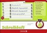 Schreibheft / Schulheft LINEATUR 0 (Din A5 - 16 Blatt / quer) SCHÖNSCHREIBPAPIER