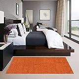#10: Glamkaart Orange Reversible Soft Floor Runner 2x5 Feet