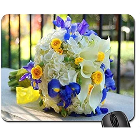 Iris,Cala and roses Mouse Pad, Mousepad (Flowers Mouse Pad)