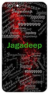 Jagadeep (Light Of The World) Name & Sign Printed All over customize & Personalized!! Protective back cover for your Smart Phone : Samsung Galaxy E-7
