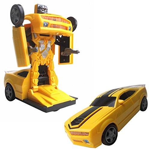 Transfom Car-Transformer Auto mit automatischer Verwandlung zum Roboter!Mit ancillary heller Led Lichtshow und Musik!Der Hit 2018 auf jeder Party!Nicht nur für Kinder!Hebt die Stimmung!TOPSELLER