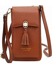 Pearl Angeli Cartera con bloqueo RFID para mujer con tarjeta de crédito