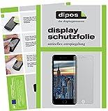 dipos I 6X Schutzfolie matt kompatibel mit Apple iPhone 8 Plus Folie Displayschutzfolie (3X Vorder- & 3X Rückseite)