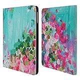 Head Case Designs Offizielle Mai Autumn Mai Blumiger Garten Brieftasche Handyhülle aus Leder für iPad Air (2013)