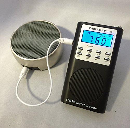 P-SB7 Spirit Box & DAS108 Orbital Bluetooth Universal Speaker Kit