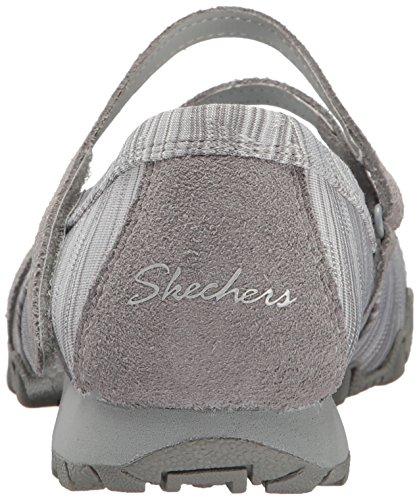 Ballerine Skechers Relax Fit per donna in tessuto tecnico grigio Grau (Grey)