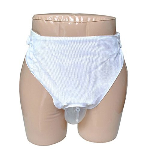 HONGDA 1-liter Reusable Portable Female Underpants Comfort Breathable Urinal System with Spill Proof Urine Collection Bag For Urine Incontinence by HONGDA