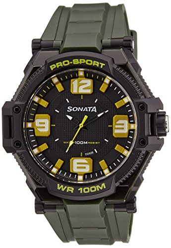 Sonata Ocean Series III Analog Multi-Color Dial Unisex Watch - 77029PP01J image