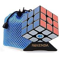 Roxenda Gan 356 Air Master 3x3 Liso Cubo Mágico Ganspuzzle Cubo de la Velocidad Puzzles incluido Apoyo de Cubo y bolsa de Cubo