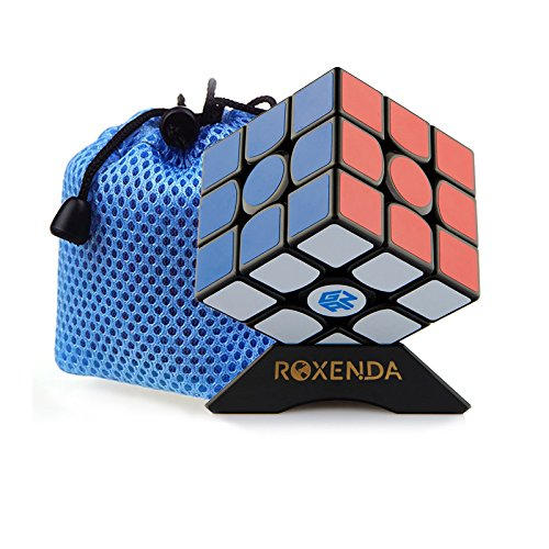 Roxenda Gan 356 Air Master 3x3 Smooth Magic Cube Ganspuzzle Speed Cube Puzzles included Cube Support and Cube Pouch